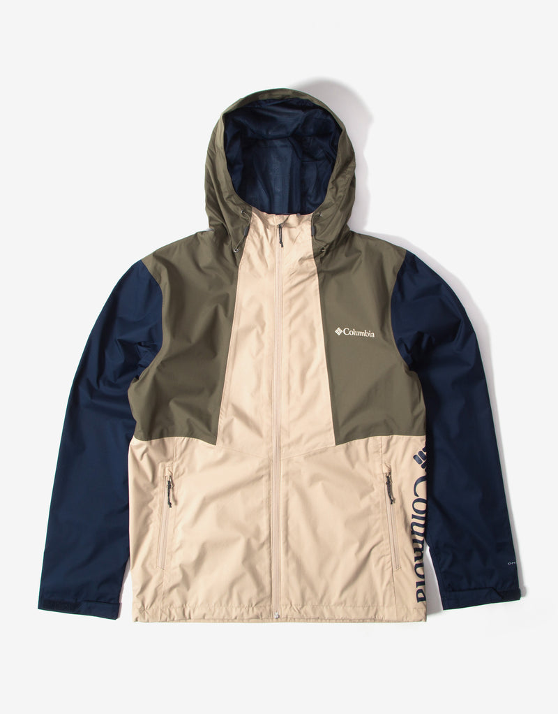 Columbia Inner Limits II Jacket - Ancient Fossil/Coll Navy/Stone Green