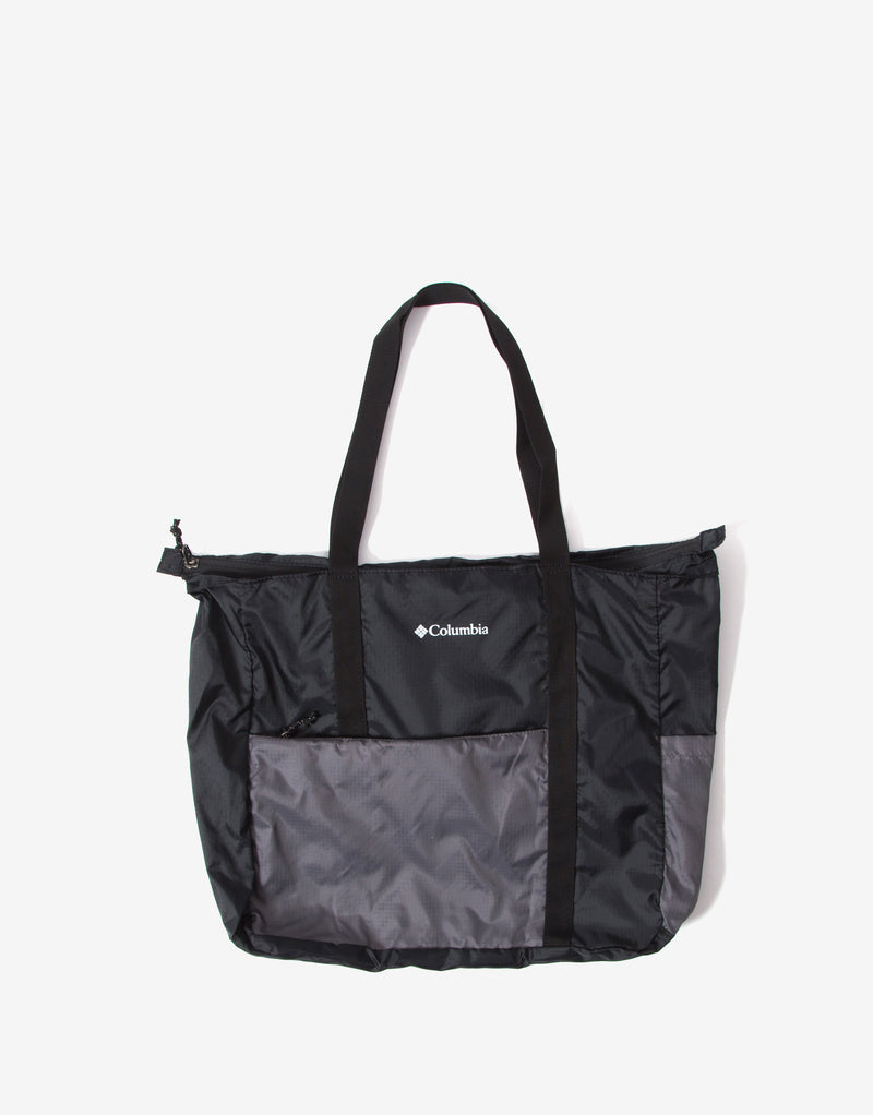 Columbia Lightweight Packable Tote Bag - Black/City Grey