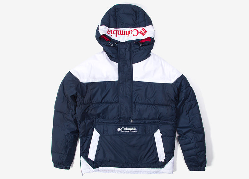 Columbia Lodge Pullover Jacket - Collegiate Navy