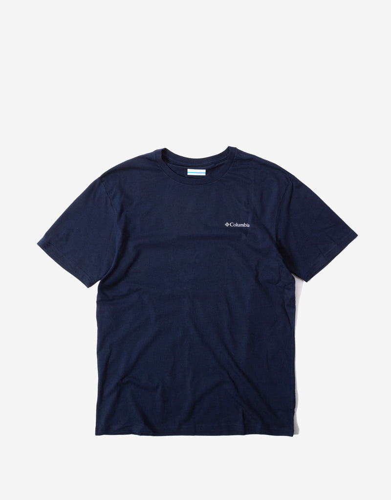 Columbia North Cascades T Shirt - Collegiate Navy