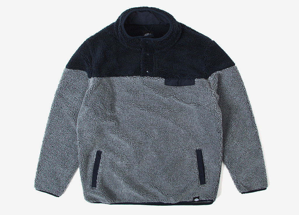 Dickies Bernville Sweatshirt - Dark Grey Melange