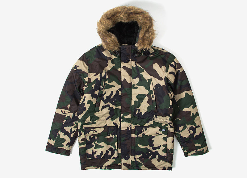 Dickies Curtis Parka Jacket - Camouflage