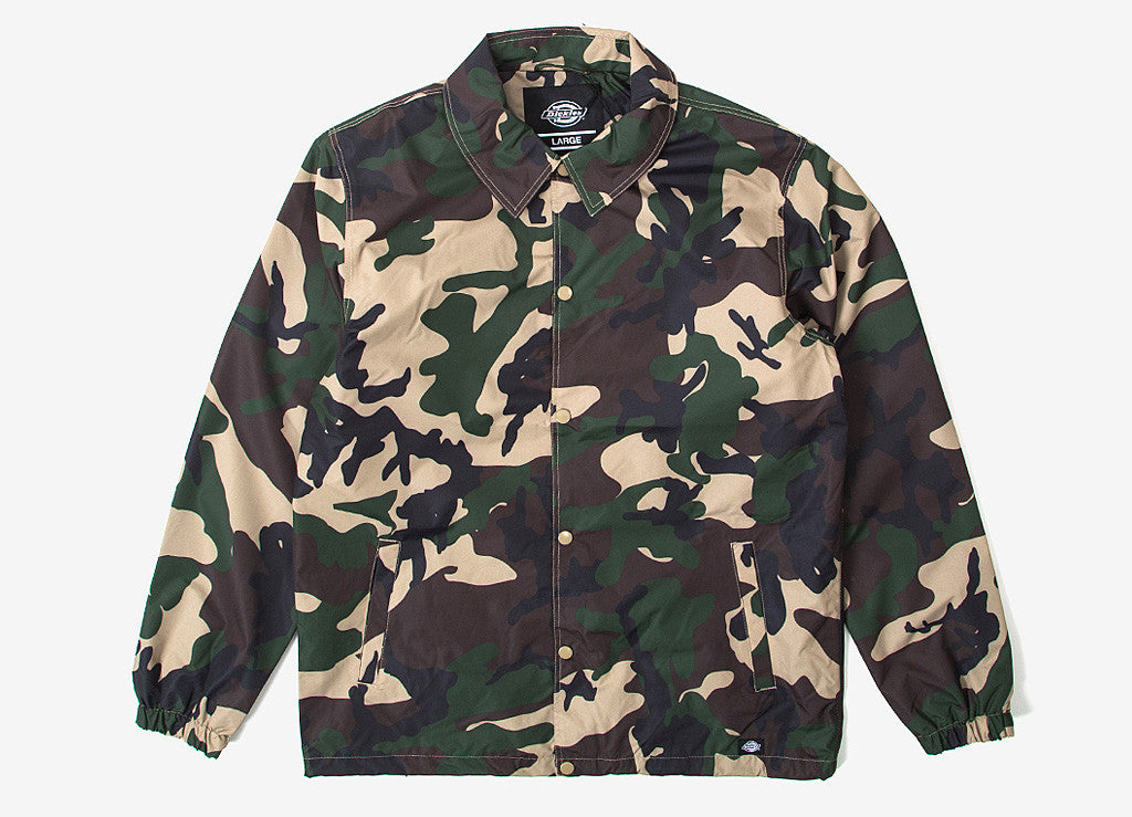 Dickies Camouflage Torrance Jacket Coach Torrance Dickies UwSxqxd