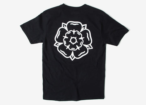 Don't Mess With Yorkshire Rose T Shirt - Black