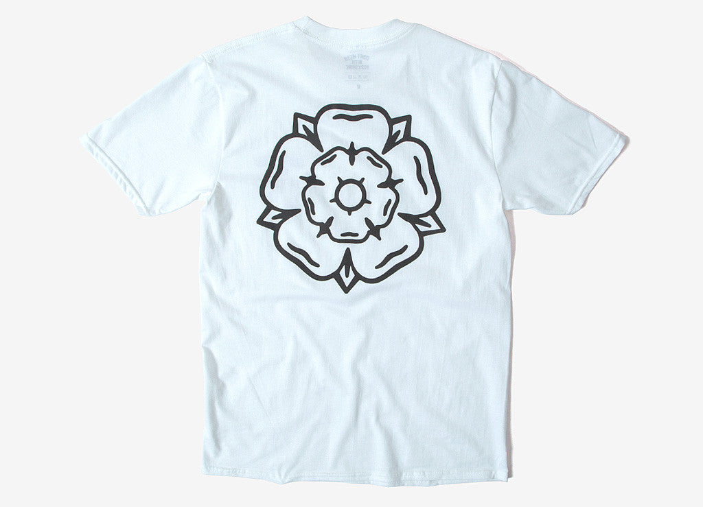 Don't Mess With Yorkshire Rose T Shirt - White