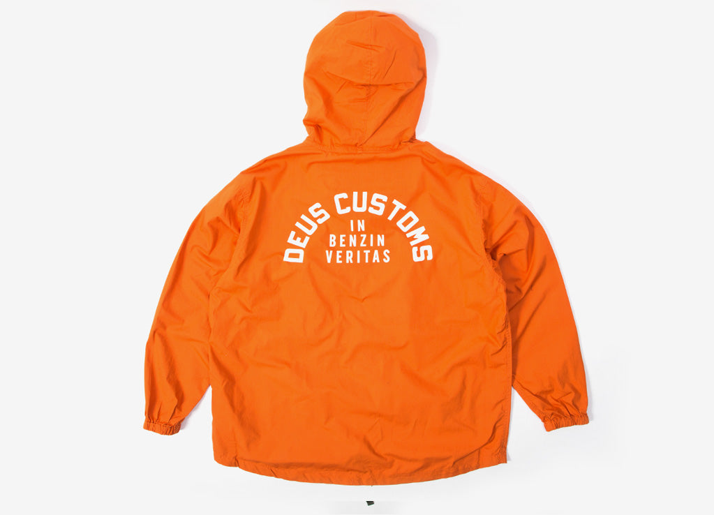 Deus Ex Machina Deckard Packable Anorak - Harvest Orange