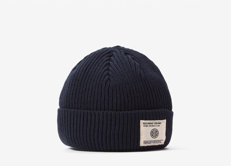 Deus Ex Machina Delta Beanie - Midnight Blue