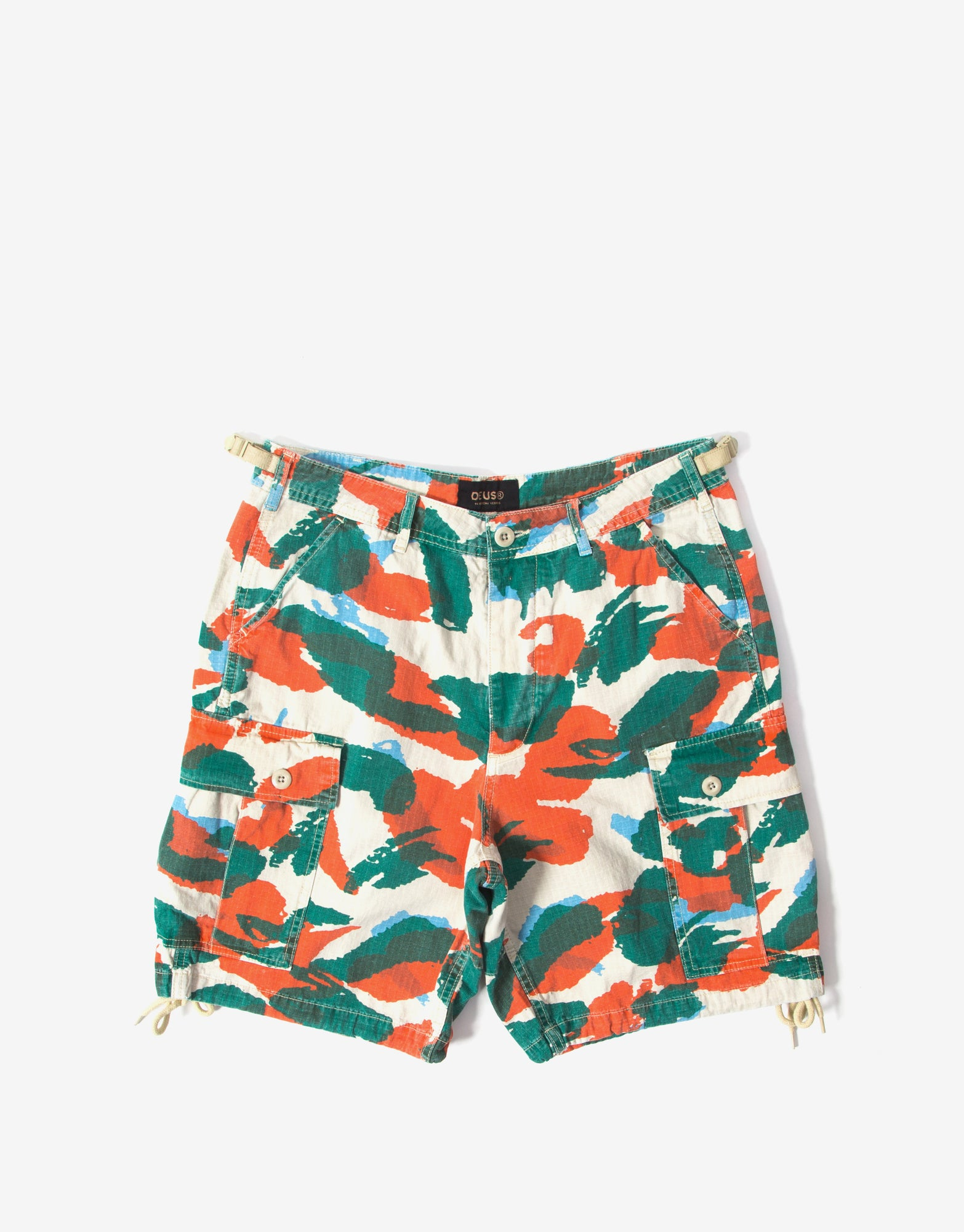Deus Ex Machina Doc Jungle Shorts - Multi/Camo