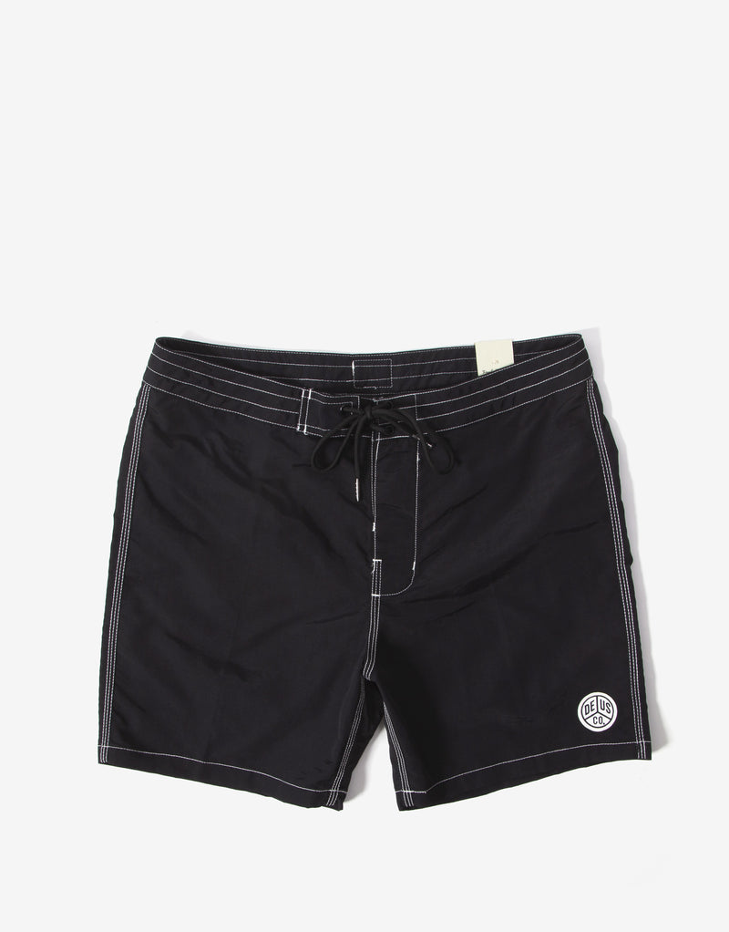 Deus Ex Machina Military Boardshort - Black