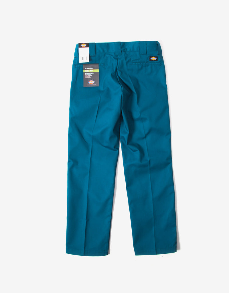 Dickies 873 Slim Straight Work Pant - Coral Blue