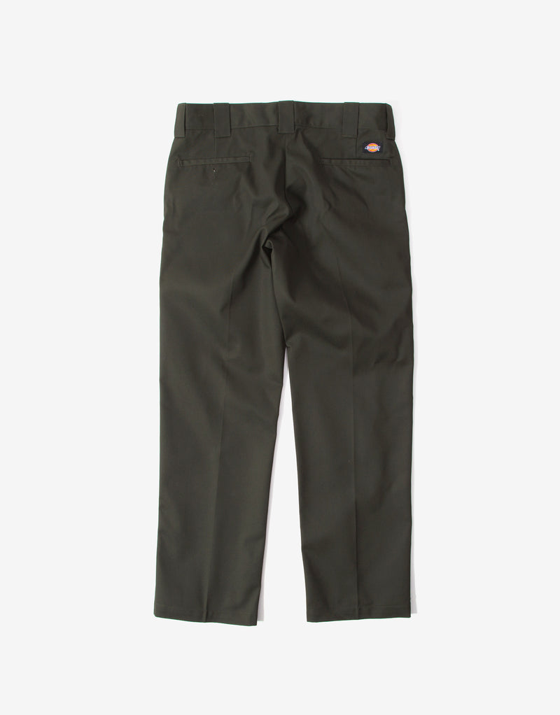 Dickies 873 Slim Straight Work Pant Trousers - Olive Green