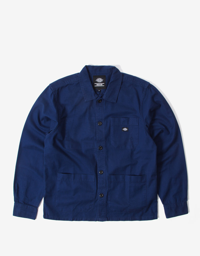 Dickies Caprock Over Shirt - Deep Blue