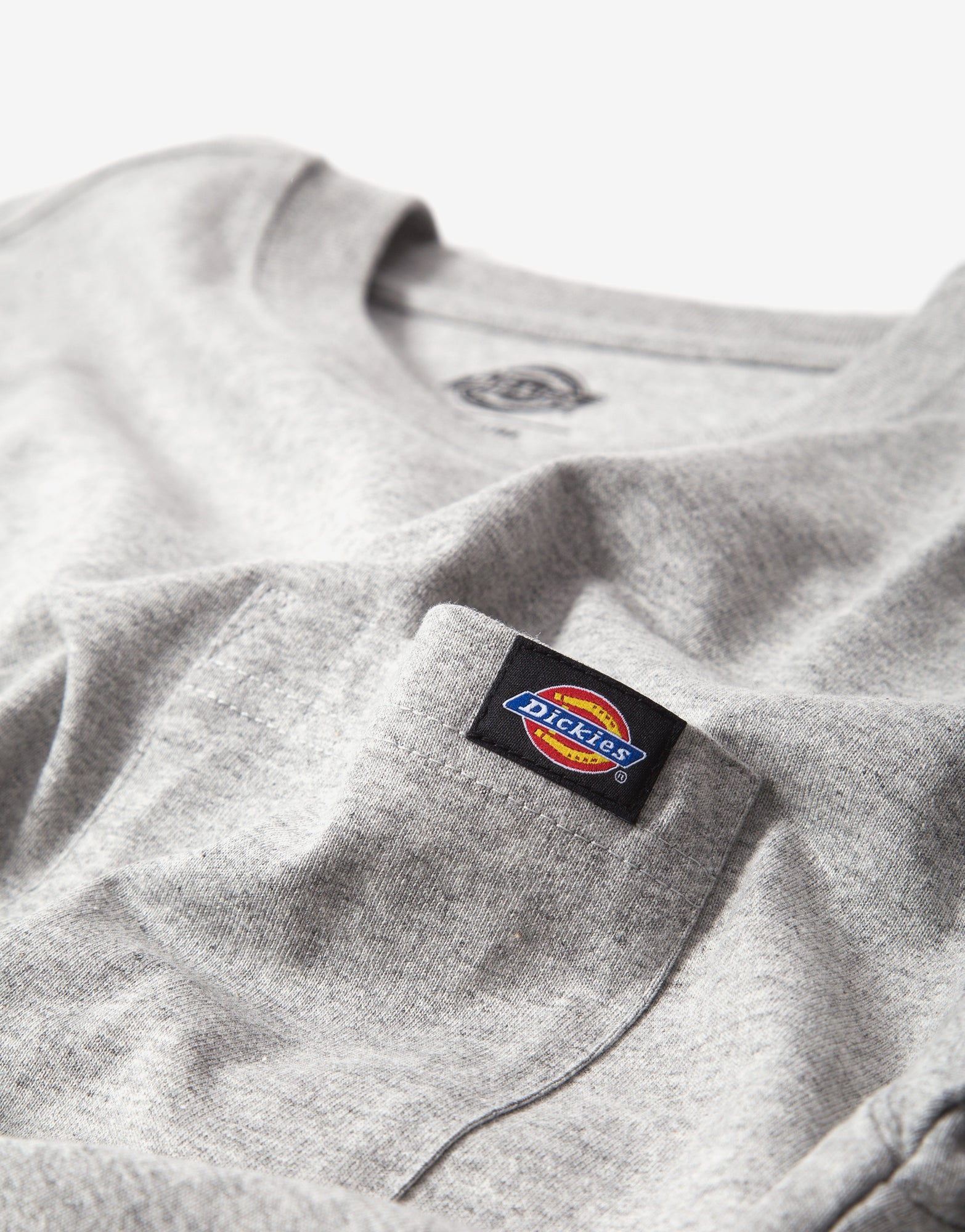 Dickies Porterdale T Shirt - Heather Grey