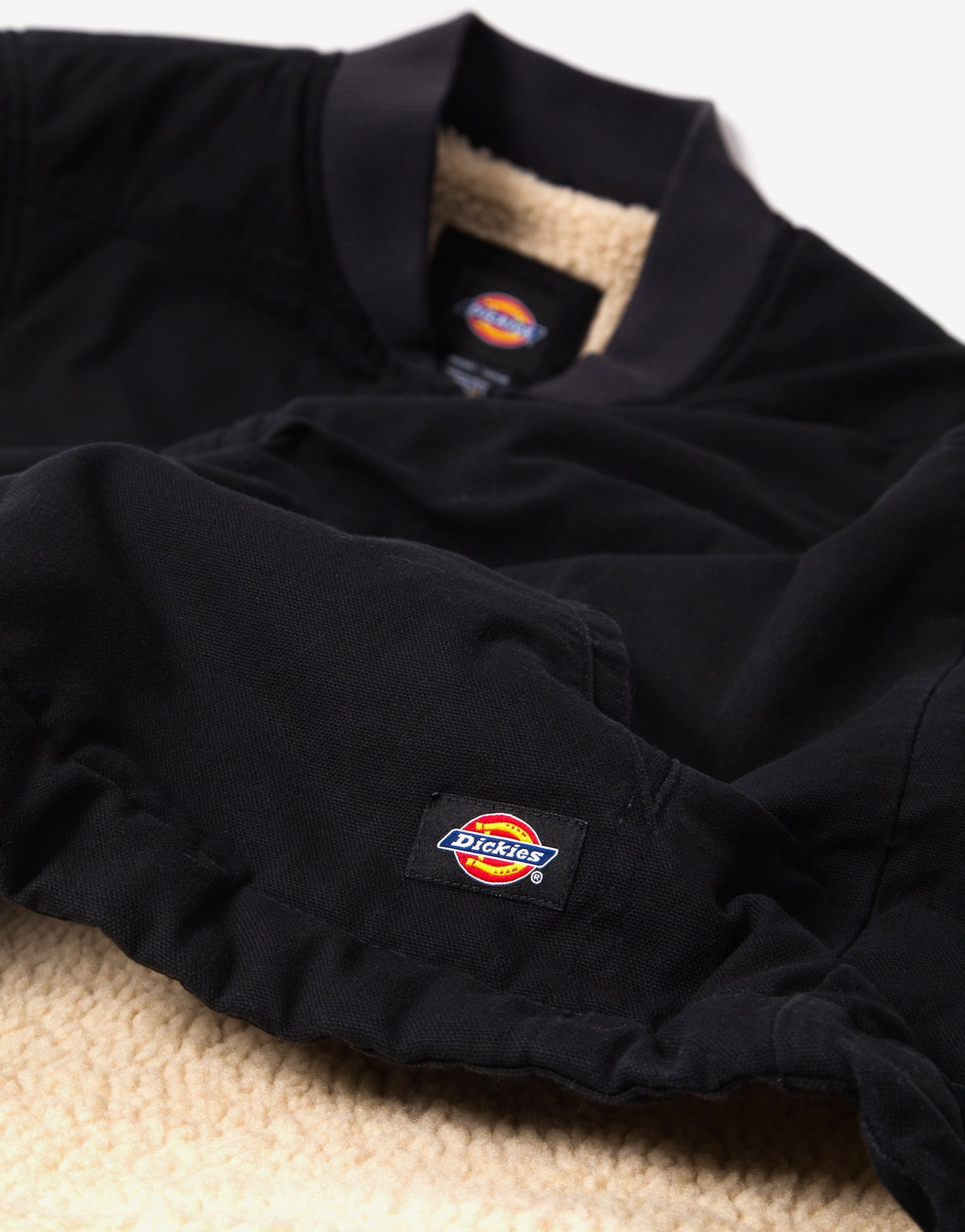 Dickies Sherpa Lined Vest - Black