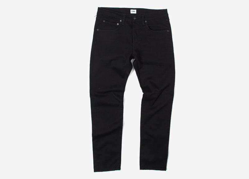 Edwin ED-55 Regular Tapered Denim Jeans - CS Ink Black Rinsed
