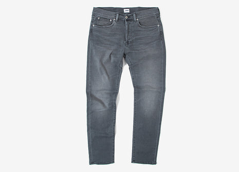 Edwin ED-80 Slim Tapered Jeans - Black Acid
