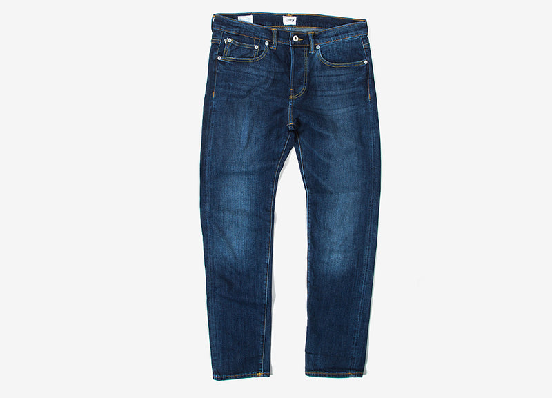 Edwin ED-80 Slim Tapered CS Red Listed Selvedge Jeans - Blast Wash