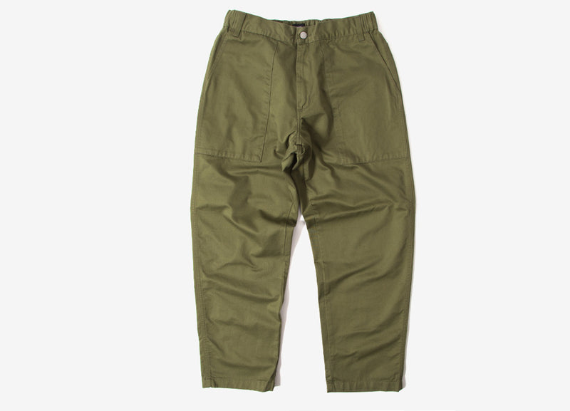Edwin Labour Pant - Military Green Rinsed