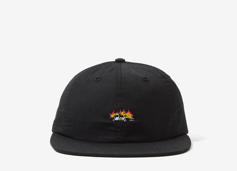 Good Worth & Co 5-0 Strapback Cap - Black