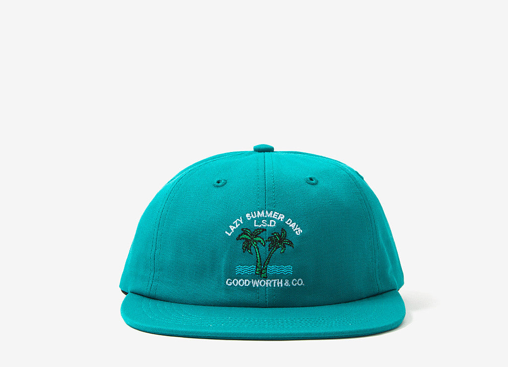 Good Worth & Co Lazy Days Strapback Cap - Teal