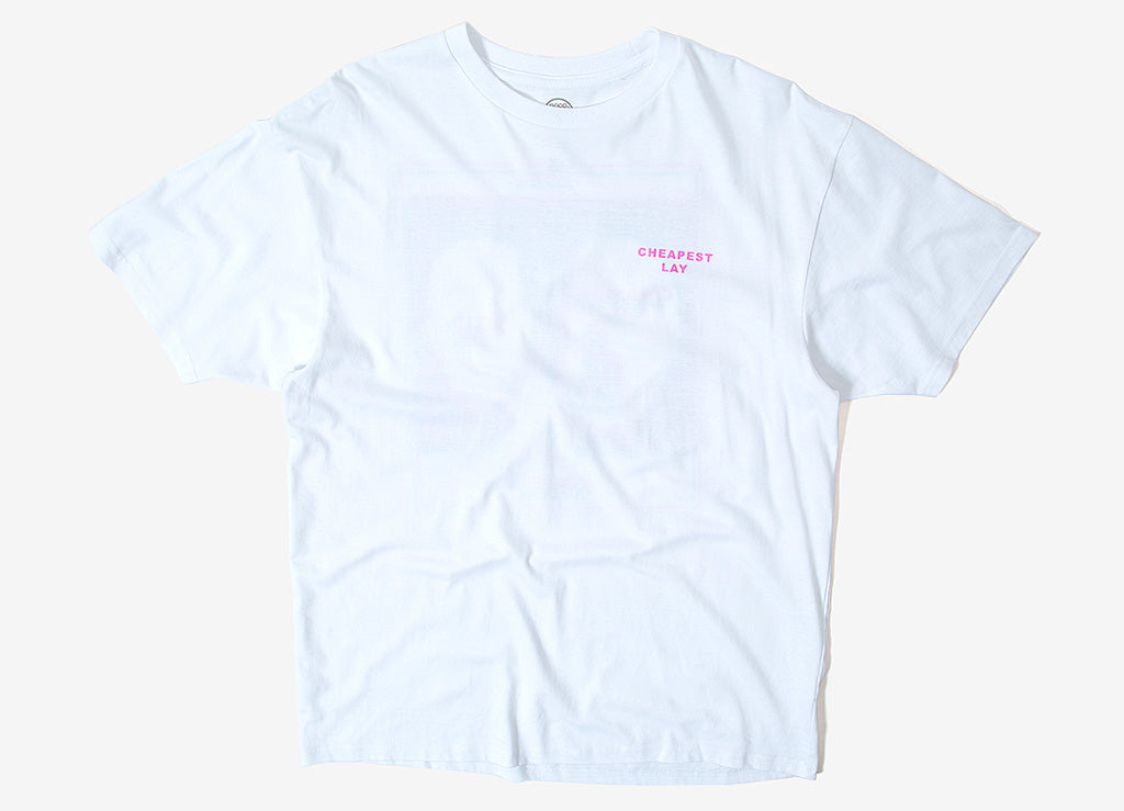 Good Worth & Co Cheapest Lay T Shirt - White
