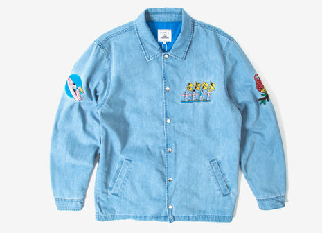Good Worth & Co x Luke Pelletier Fuck Off Jacket - Denim