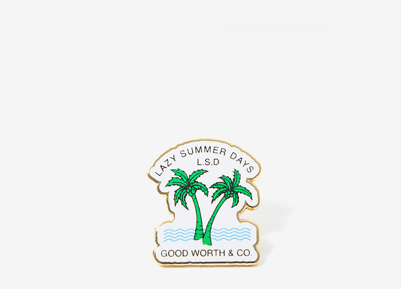 Good Worth & Co Lazy Days Pin - Allover