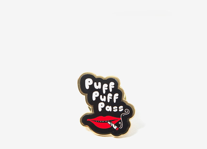 Good Worth & Co Puff Puff Pass Pin - Allover