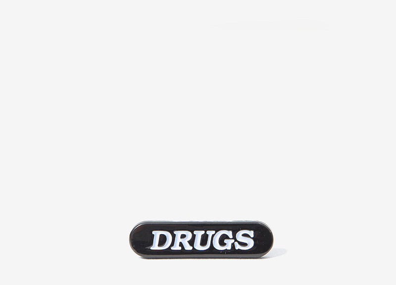 Good Worth & Co Drugs Pin Badge - Allover