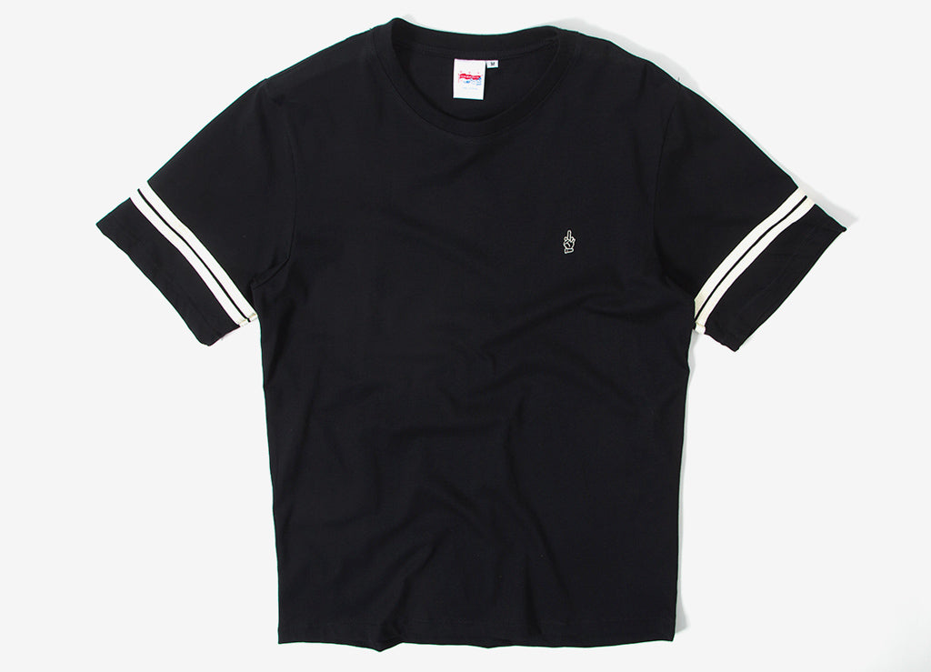 Good Worth & Co Best Wishes Jersey T Shirt - Black