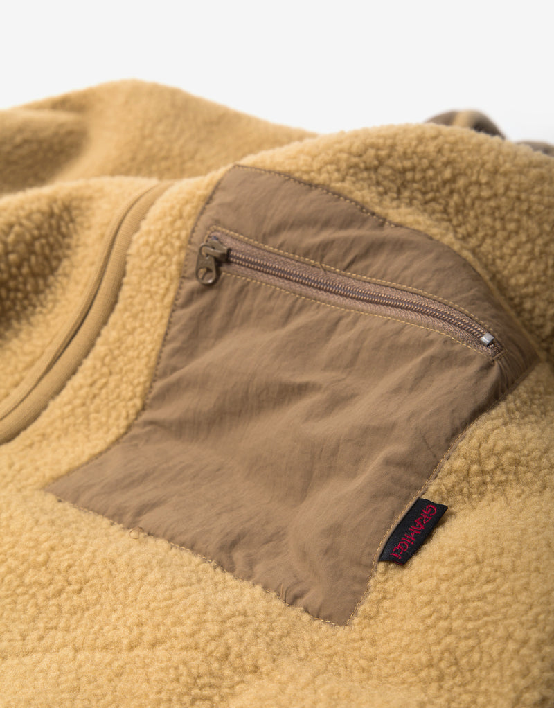 Gramicci Boa Fleece Jacket - Beige
