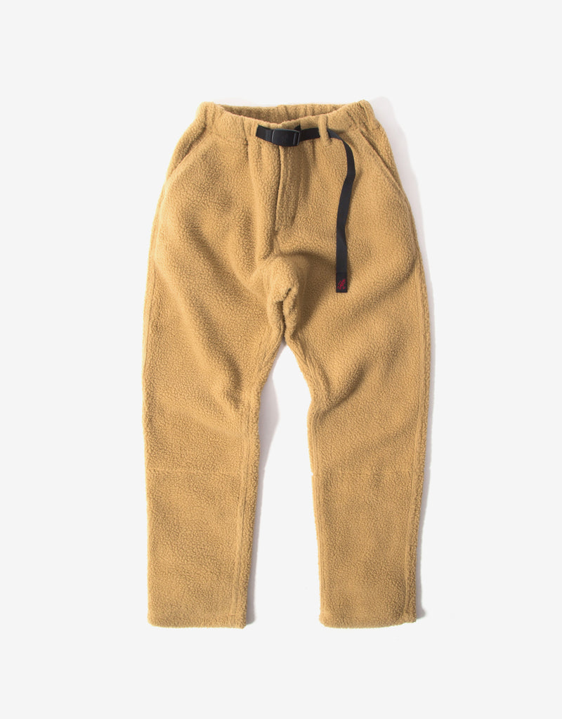 Gramicci Boa Fleece Truck Pants - Beige