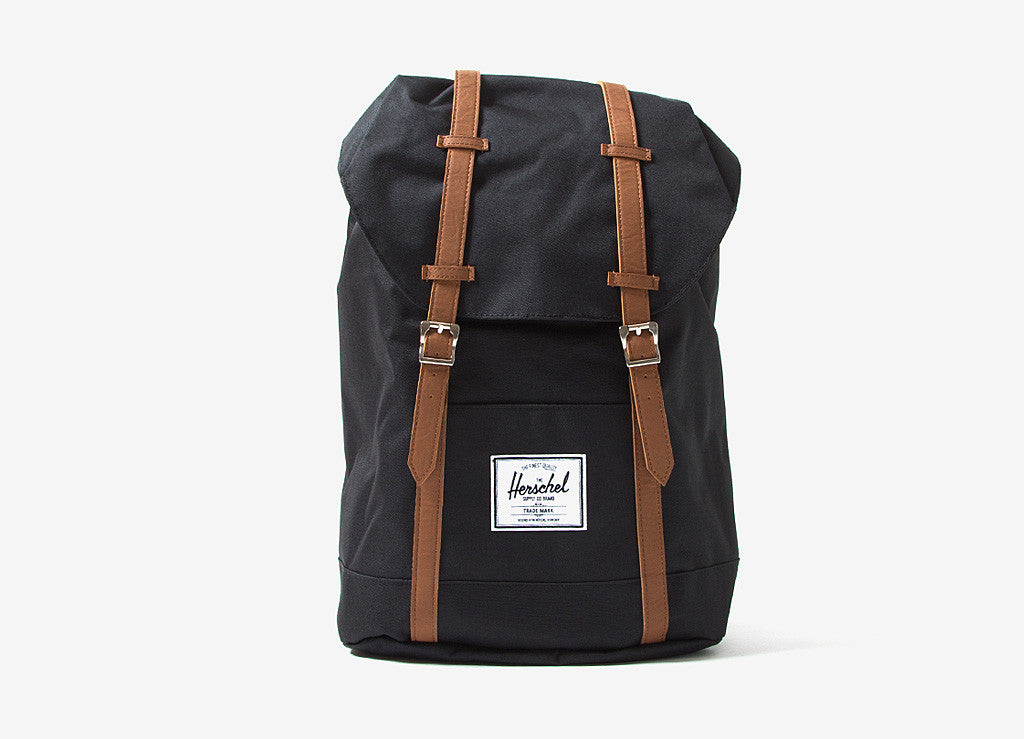 Herschel Supply Co Retreat Backpack - Black/Tan