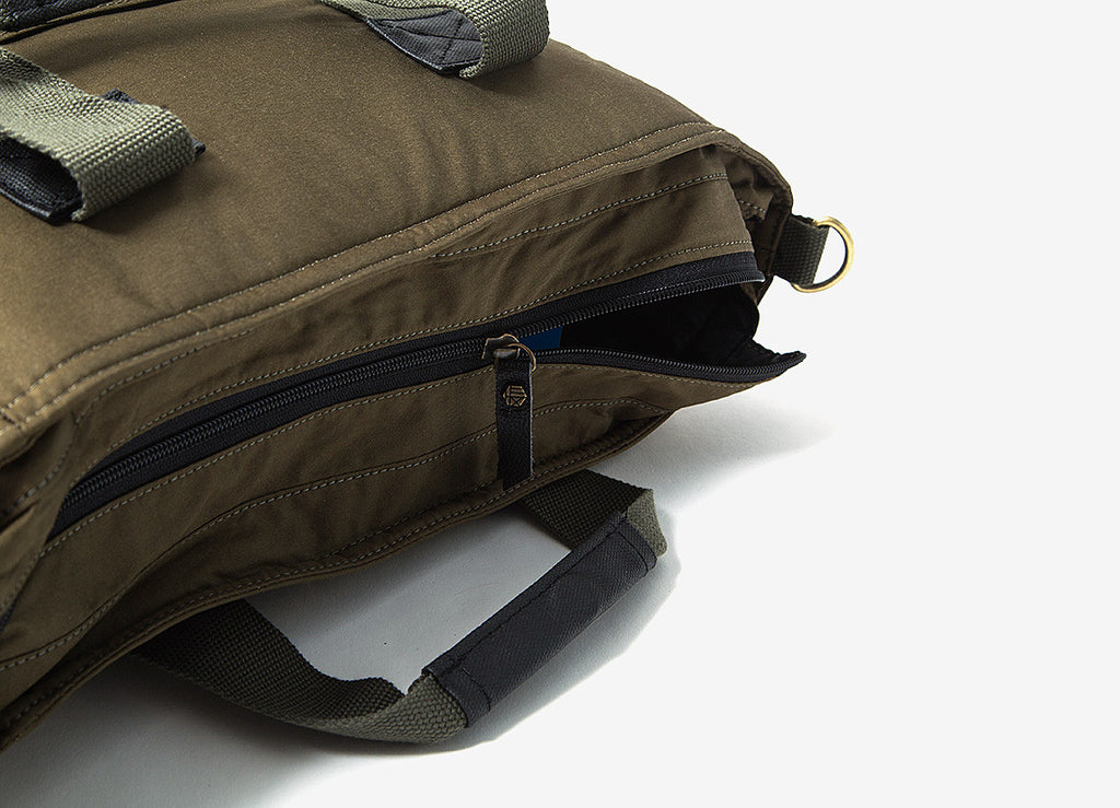 HEX Agency Laptop Tote Bag - Satin Fatigue
