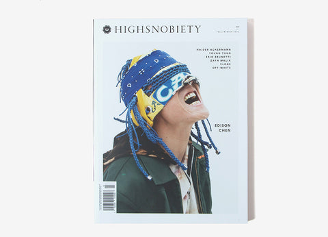 Highsnobiety Magazine Issue 13 - Edison Chen