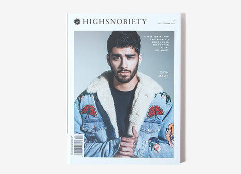 Highsnobiety Magazine Issue 13 - Zayn Malik