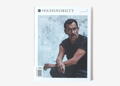 Highsnobiety Magazine Issue 13 - Haider Ackerman