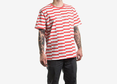 HUF Off Set T Shirt - Salmon