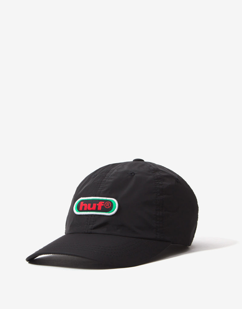 HUF 98 Logo CV 6 Panel - Black