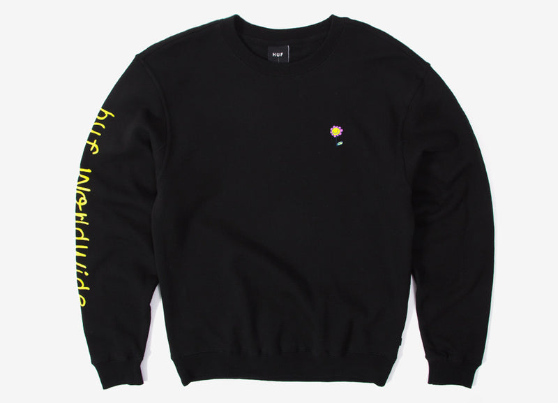 HUF Anxiety & Depression Sweatshirt - Black
