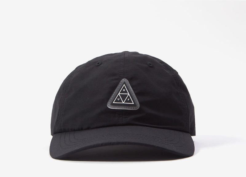 HUF Aurora CV 6 Panel Cap - Black