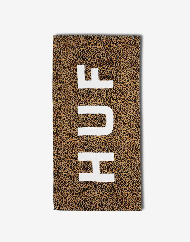 HUF Beach Towel - Leopard