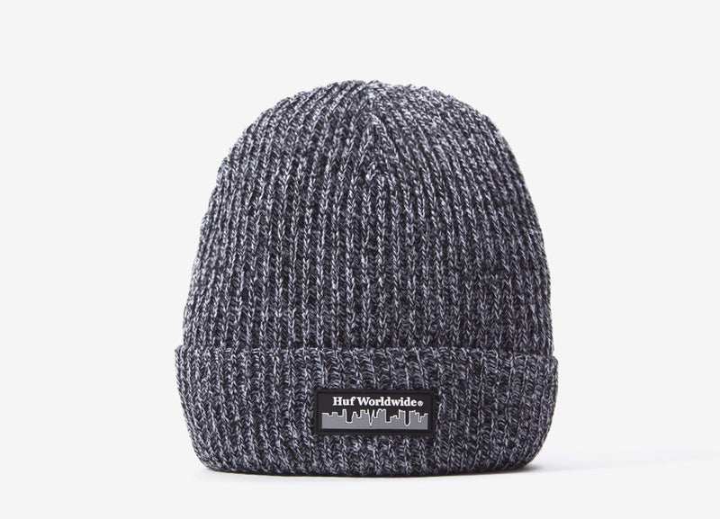 HUF Boroughs Beanie - Black