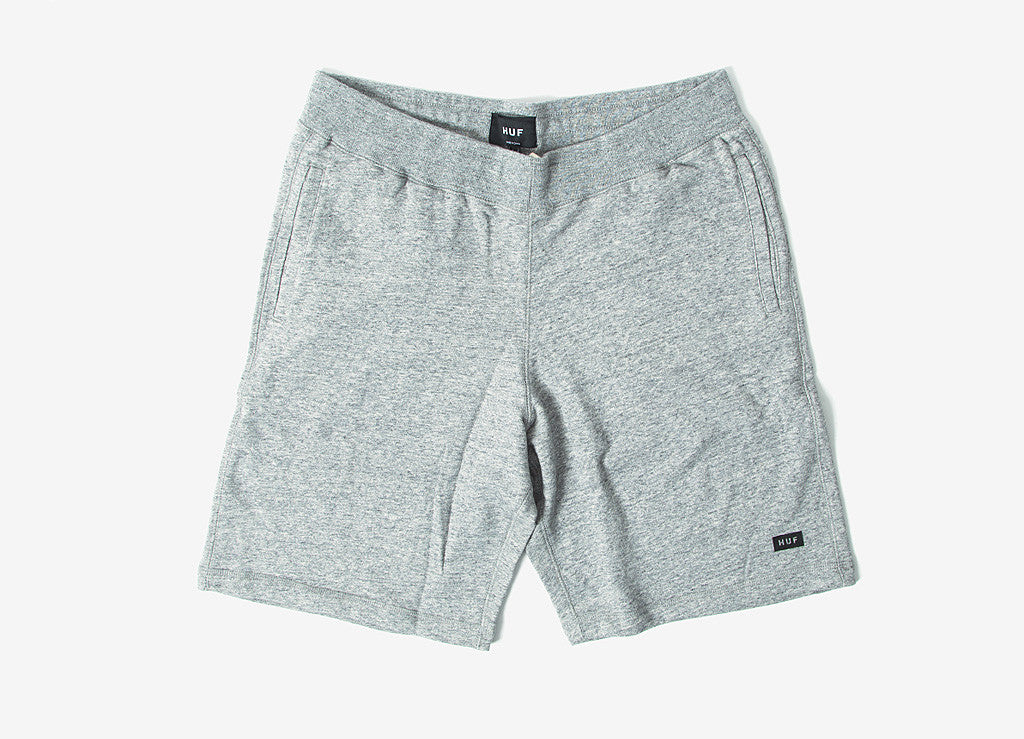 HUF Cadet Fleece Short - Heather Grey