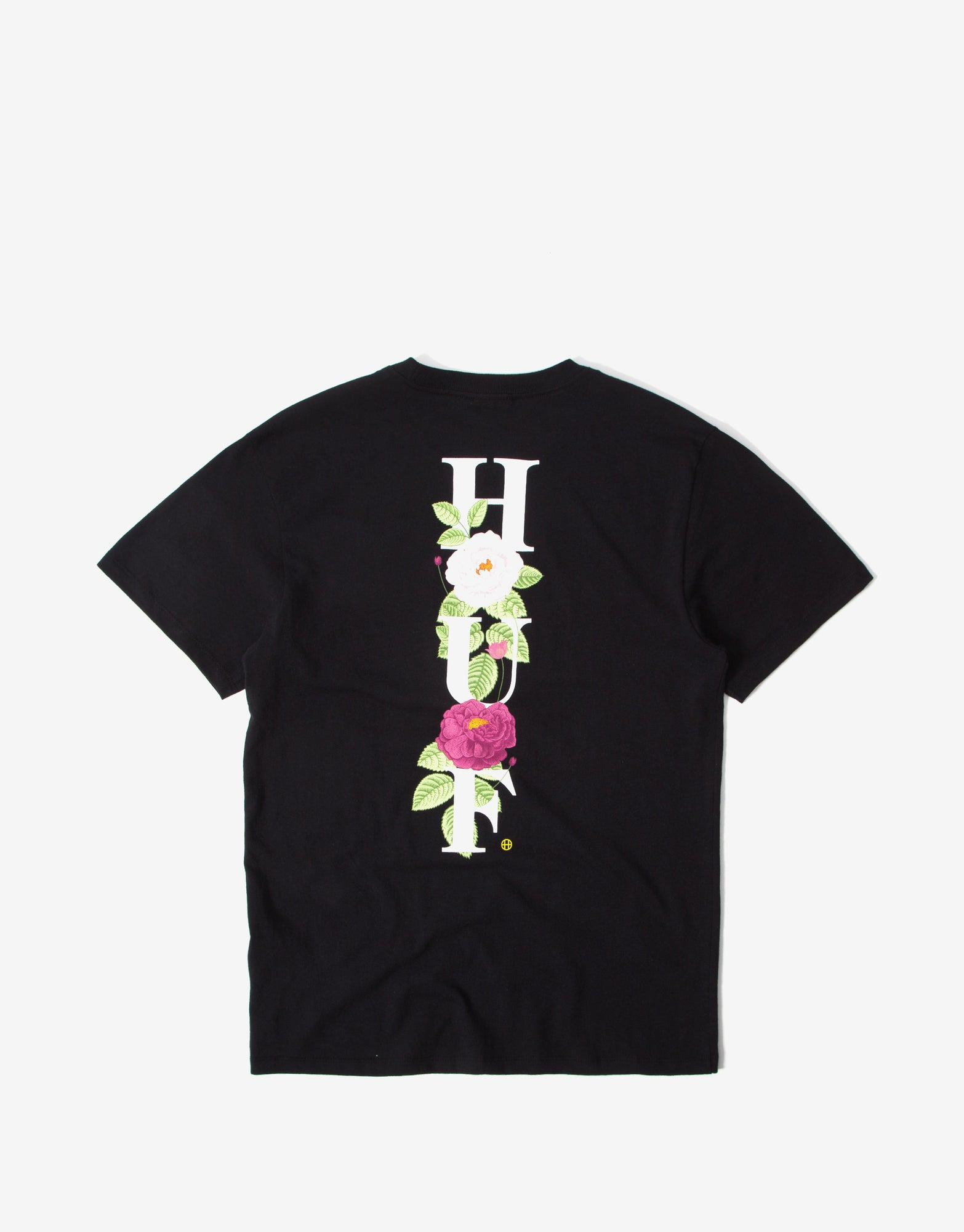 HUF Central Park Pocket T Shirt - Black