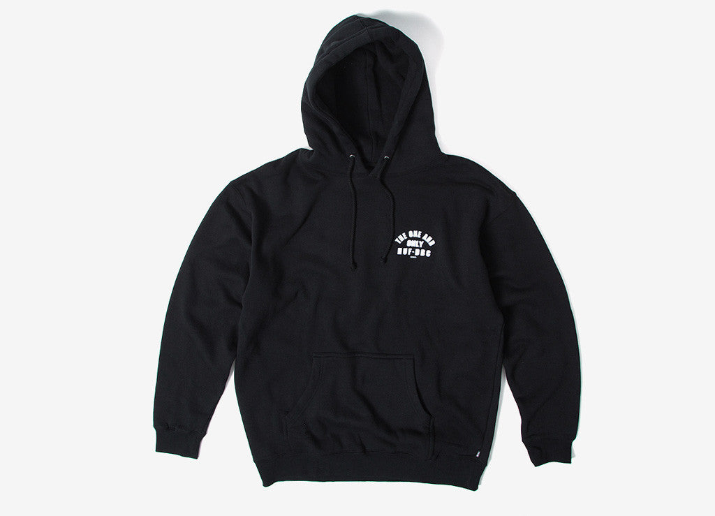 HUF Chief Pullover Hoody - Black