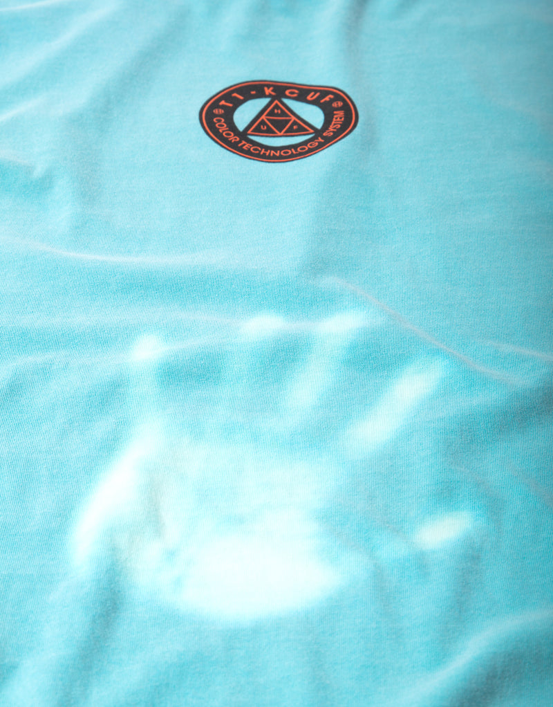 HUF Color Tech Triple Triangle T Shirt - Mint