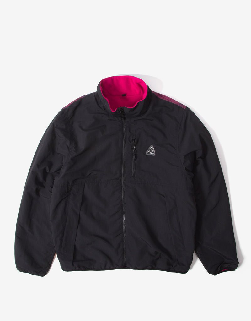 HUF Crisis Reversible Jacket - Black
