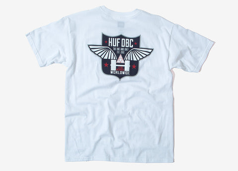 HUF Flight T Shirt - White