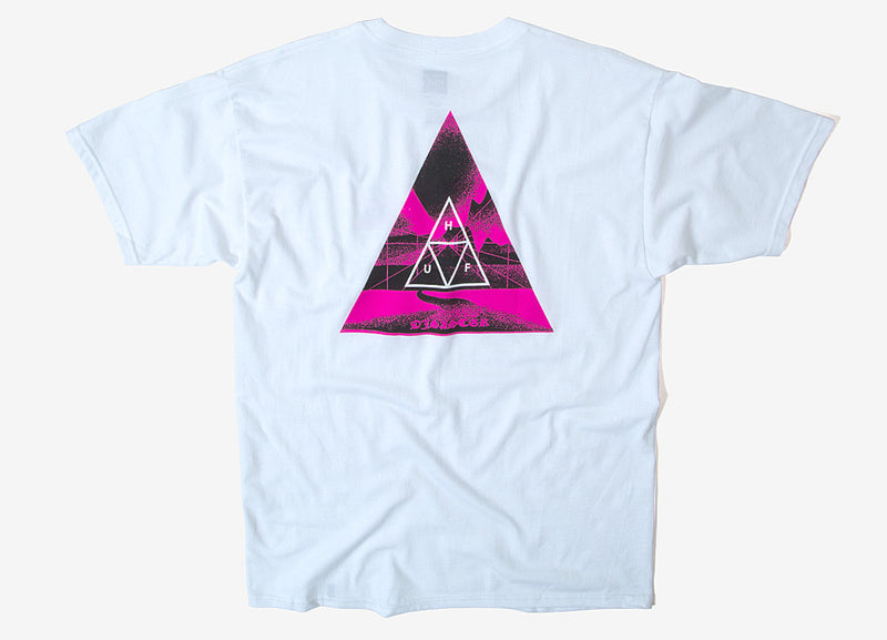 HUF Dimensions Triangle T Shirt - White